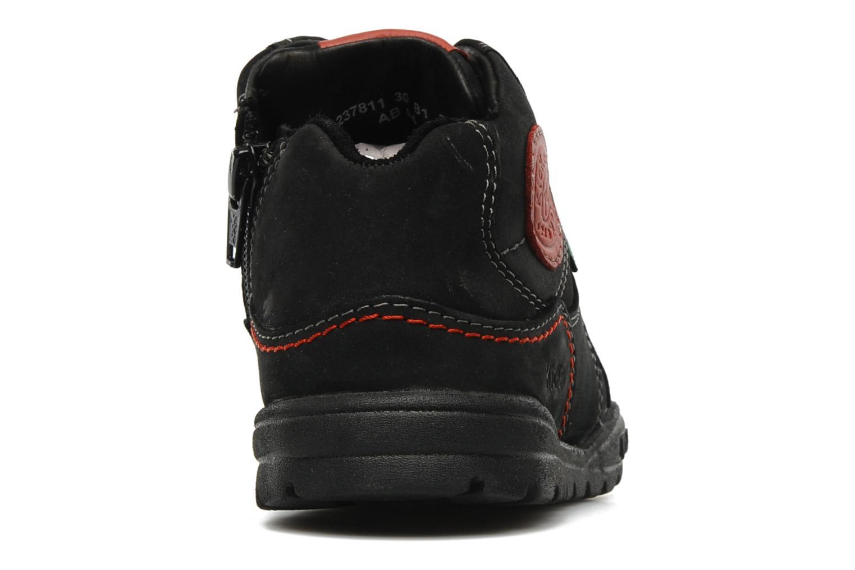 Baskets Kickers FORSHIGH Noir vue droite