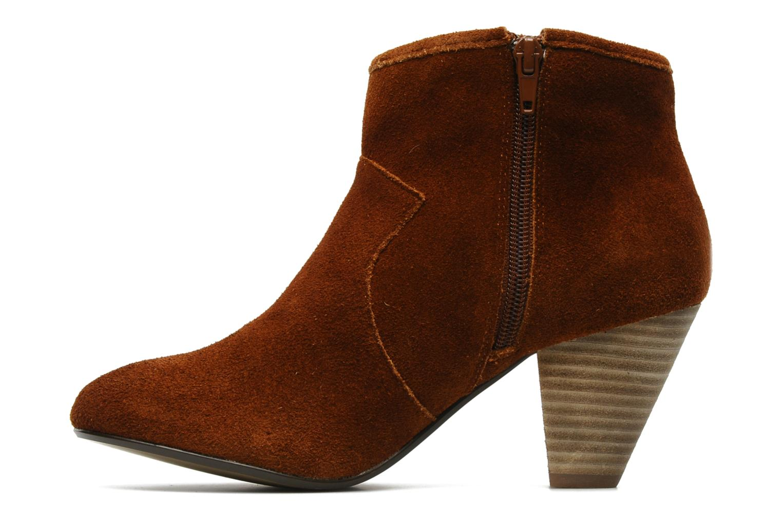 Ankle boots Georgia Rose Ipana Brown front view