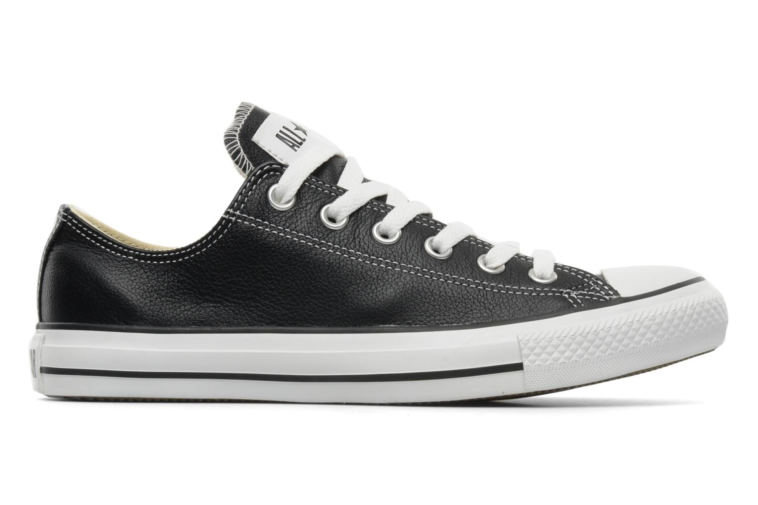 Deportivas Converse Chuck Taylor All Star Leather Ox M Negro vistra trasera