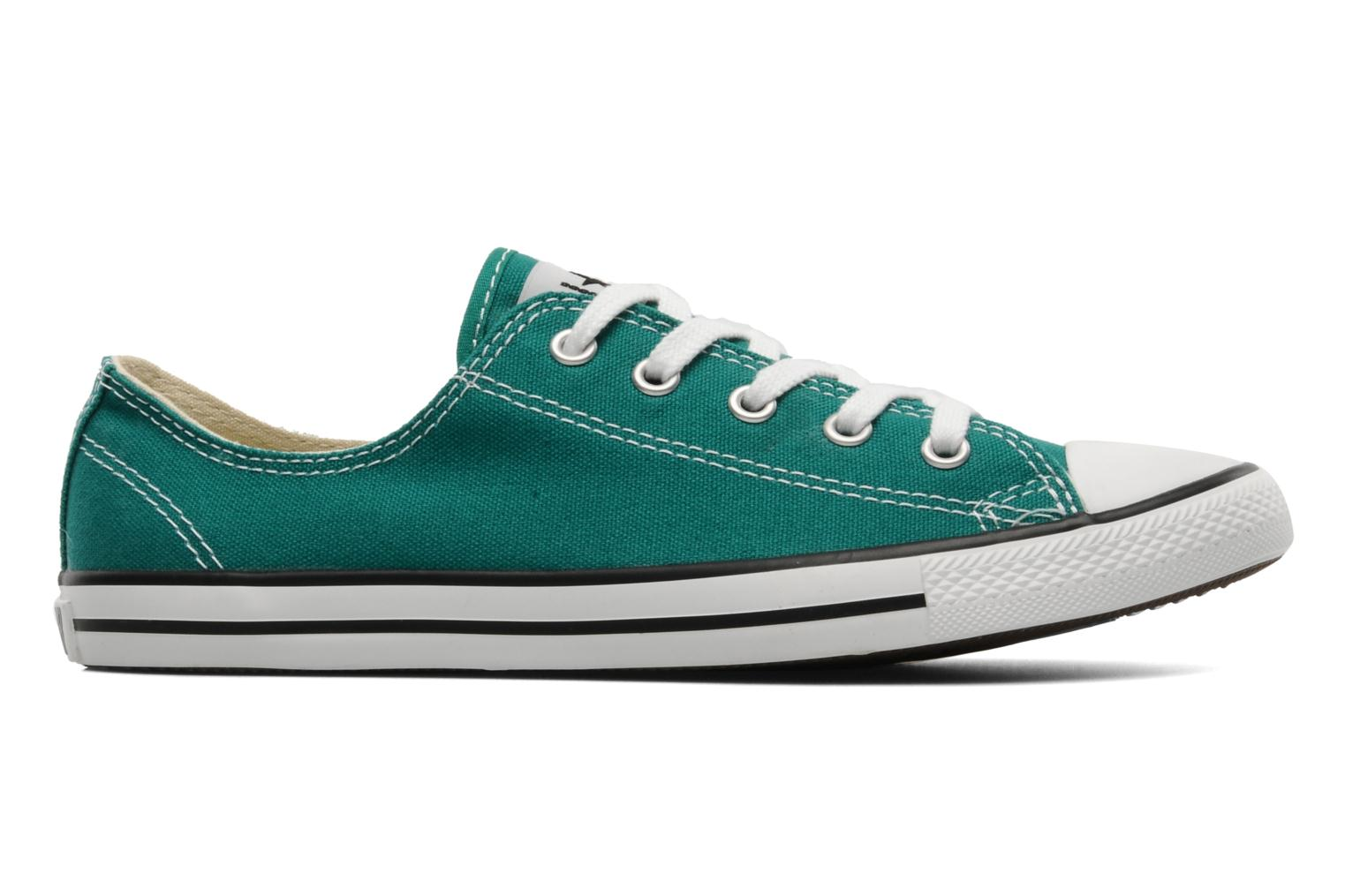 Deportivas Converse All Star Dainty Canvas Ox Verde vistra trasera