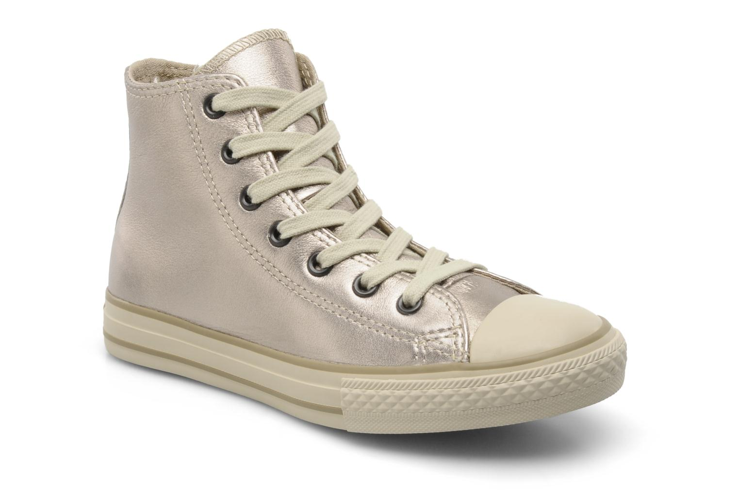 beige leather converse