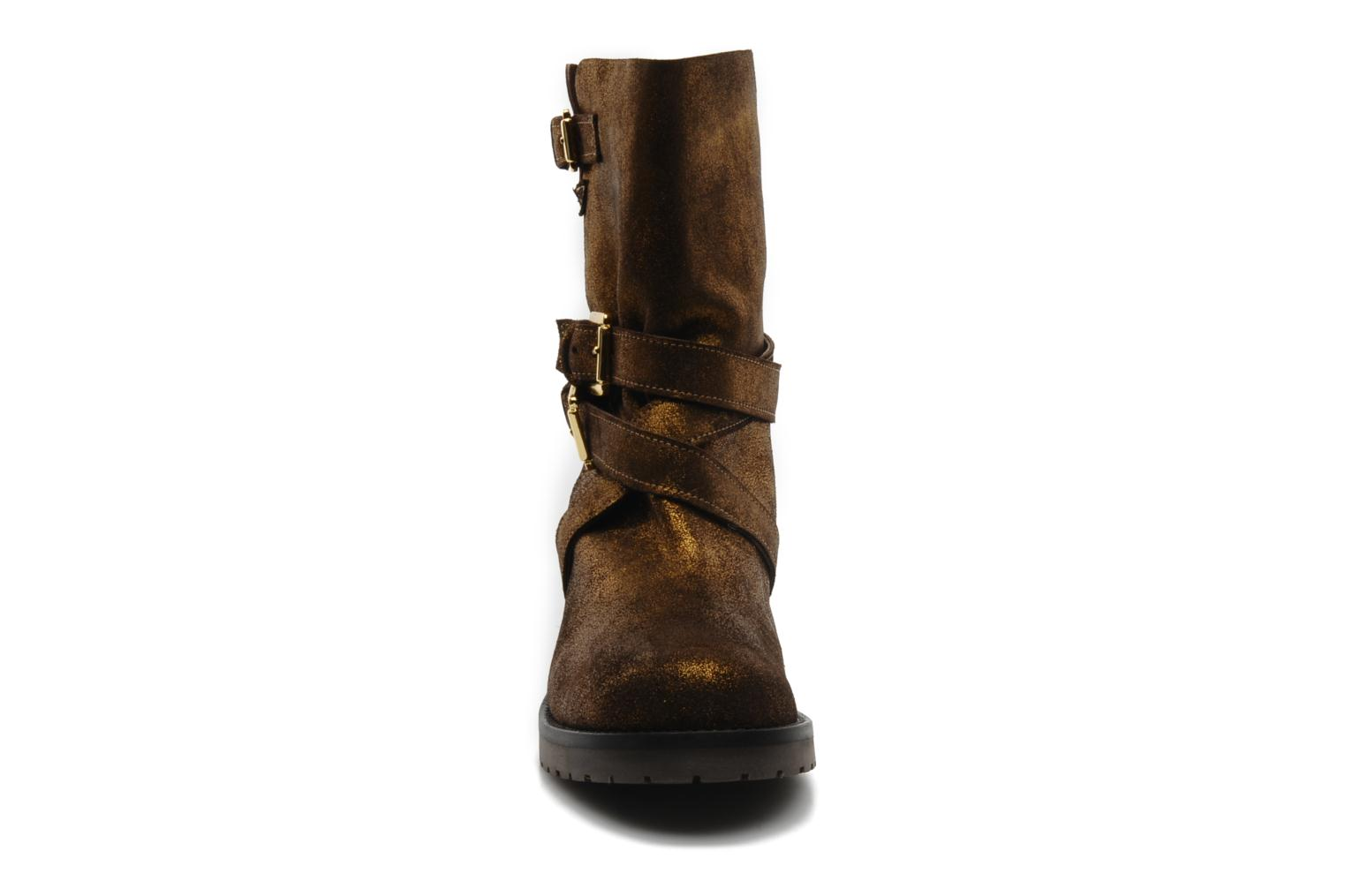 Ankle boots Mellow Yellow Ouaki Brown model view
