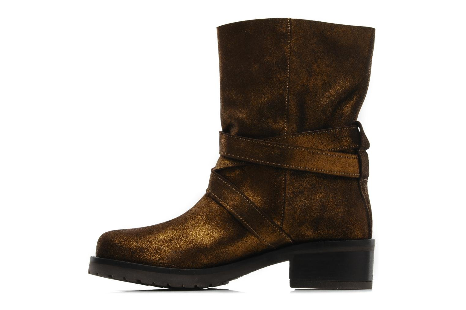 Ankle boots Mellow Yellow Ouaki Brown front view