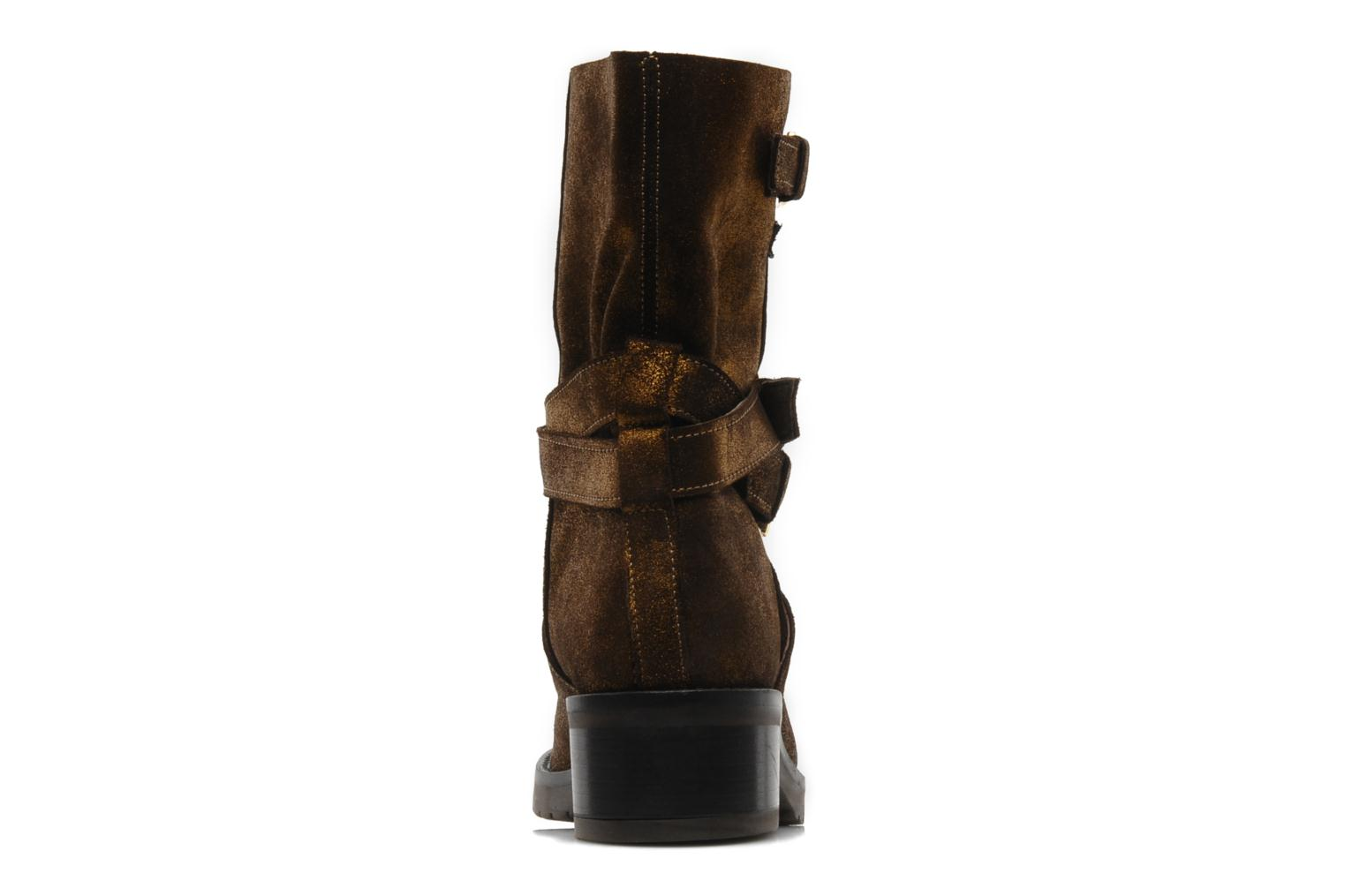 Ankle boots Mellow Yellow Ouaki Brown view from the right