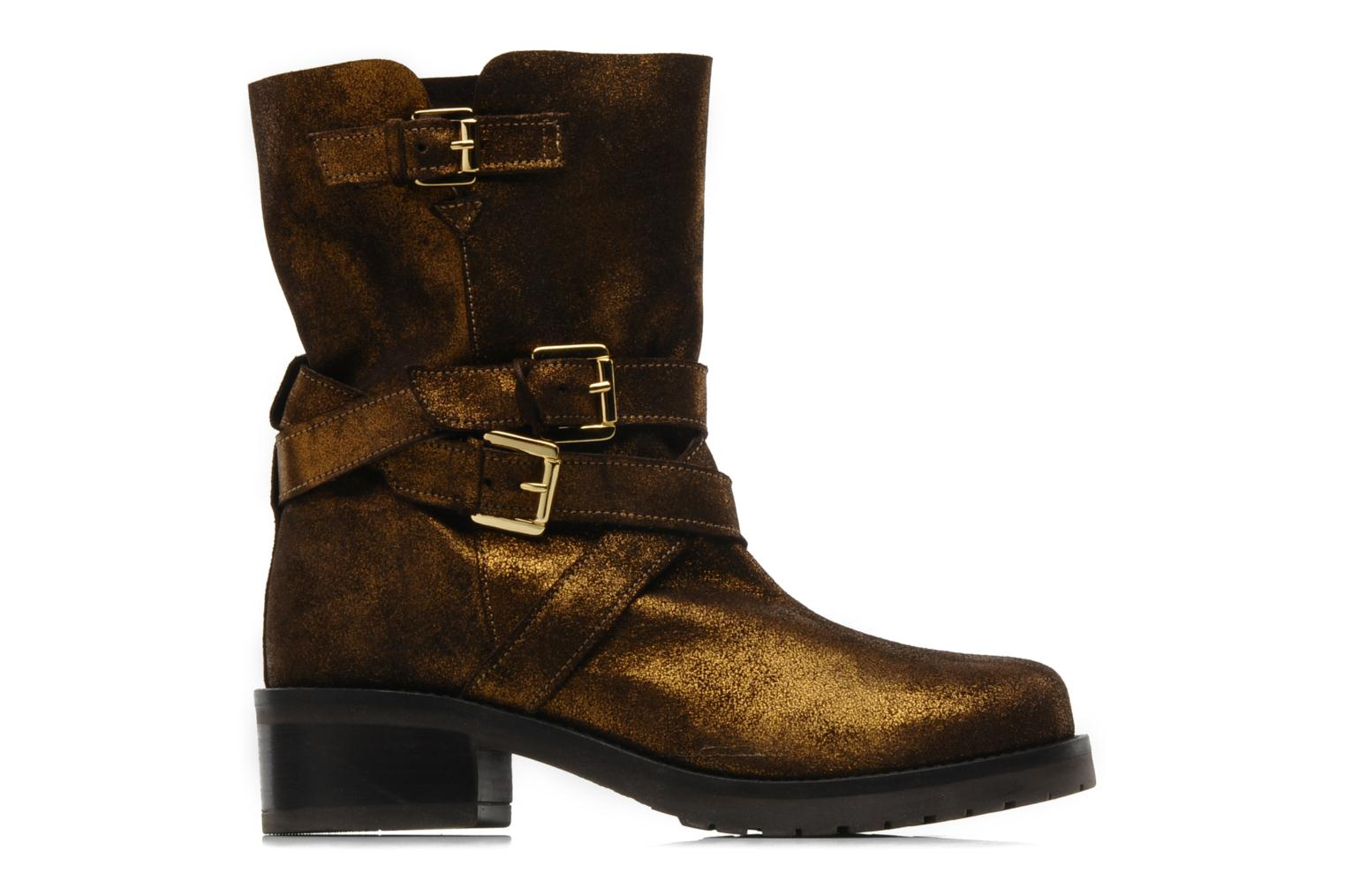 Ankle boots Mellow Yellow Ouaki Brown back view