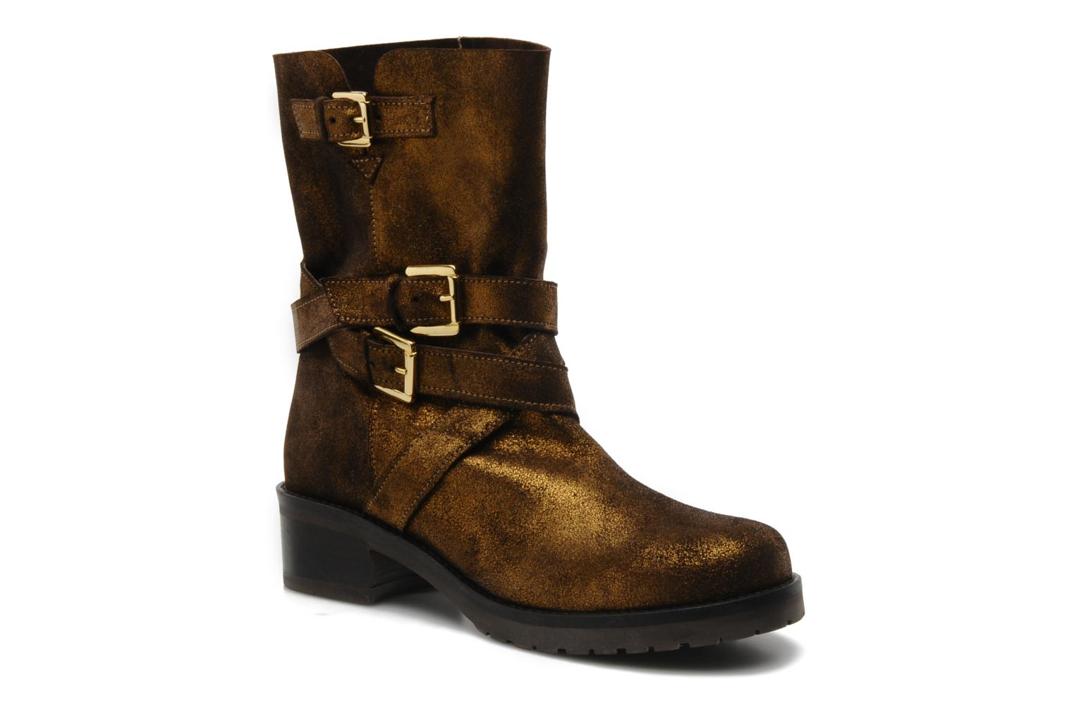 Ankle boots Mellow Yellow Ouaki Brown detailed view/ Pair view