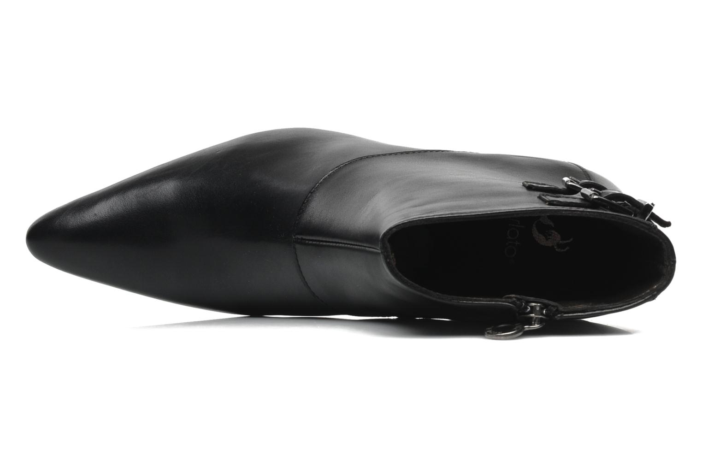 Bottines et boots Perlato Andreane Noir vue gauche