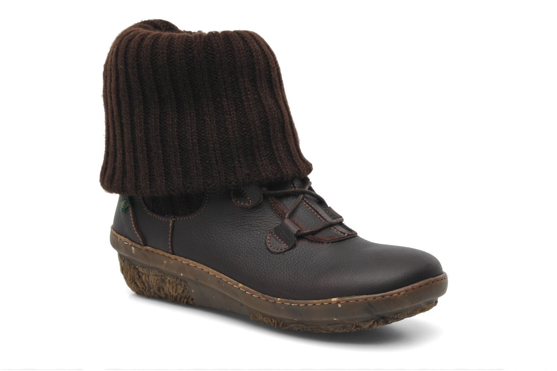 Stiefeletten & Boots El Naturalista Funghi N°381 braun detaillierte ansicht/modell