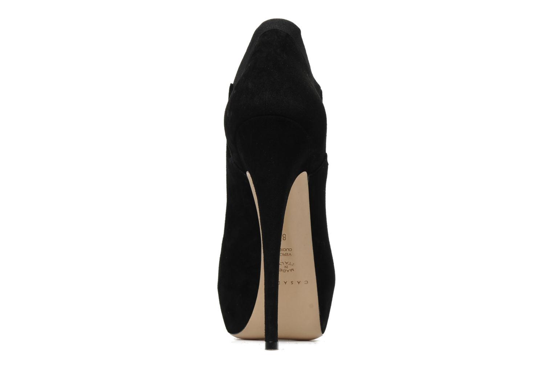 Bottines et boots Casadei Princessuede Noir vue droite