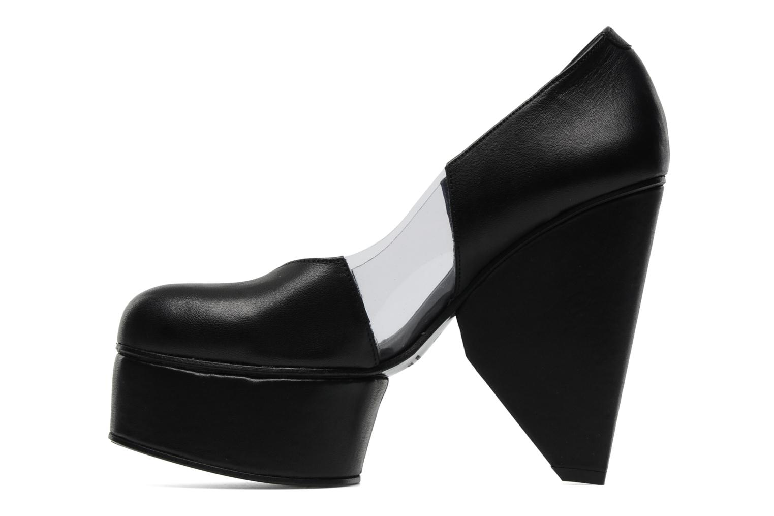 Louna Cut Pumps Black Transparent