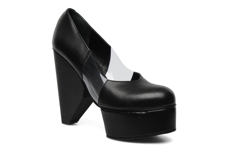 Marques Chaussure femme Surface To Air femme Louna Cut Pumps Black Transparent