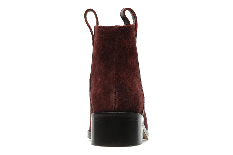 Bottines et boots Surface To Air Kim Pull Tab Boots Bordeaux vue droite