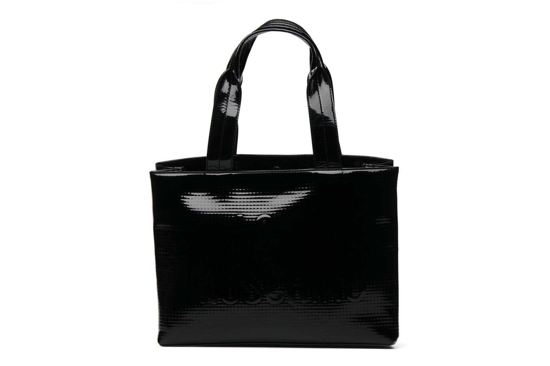 Sacs à main Love Moschino Sculpture group shopping Noir vue face