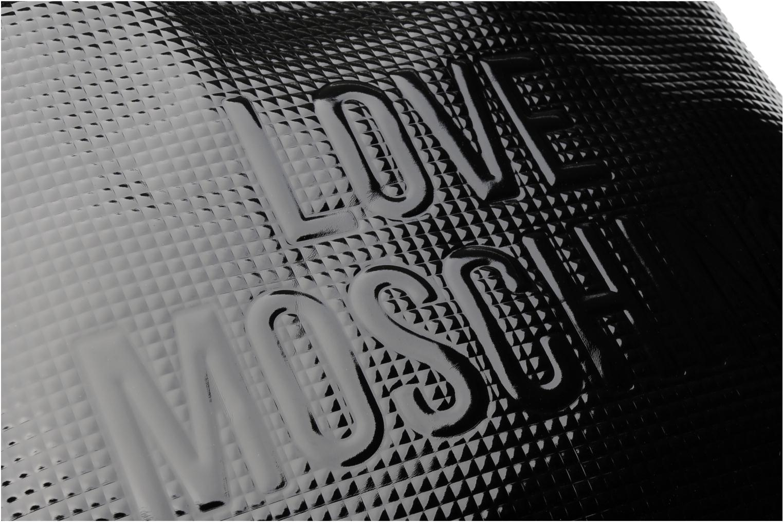 Sacs à main Love Moschino Sculpture group shopping Noir vue gauche