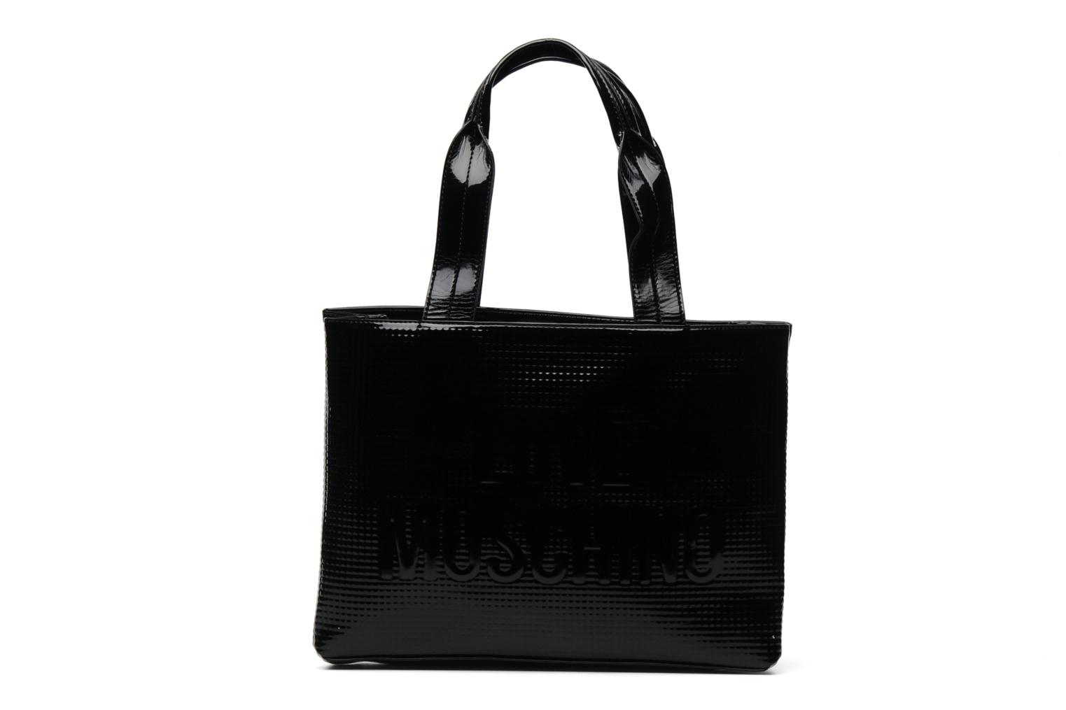 Sacs à main Love Moschino Sculpture group shopping Noir vue détail/paire