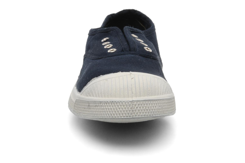 Sneakers Bensimon Tennis Elly Azzurro modello indossato