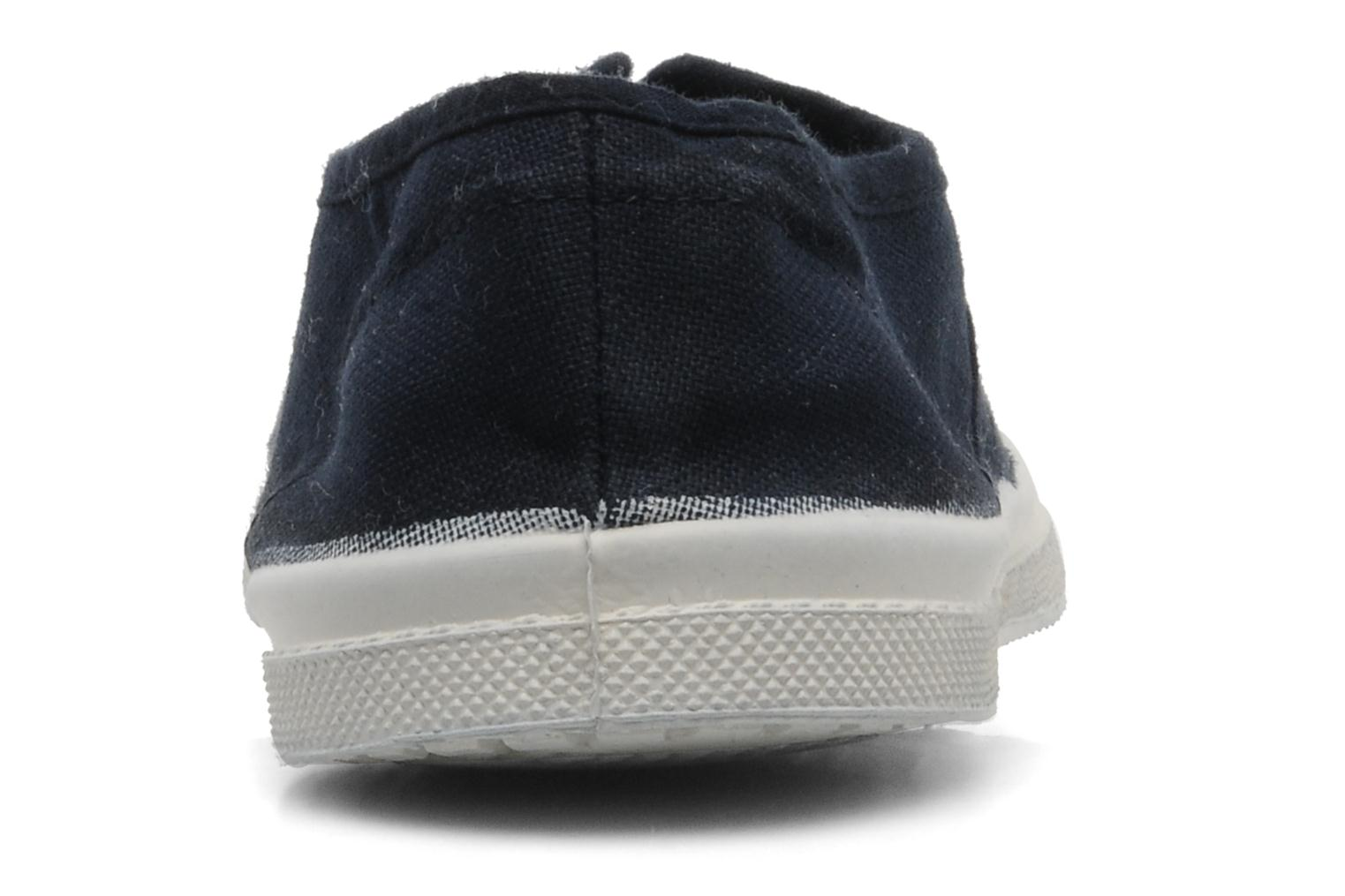 Trainers Bensimon Tennis Elly Blue view from the right