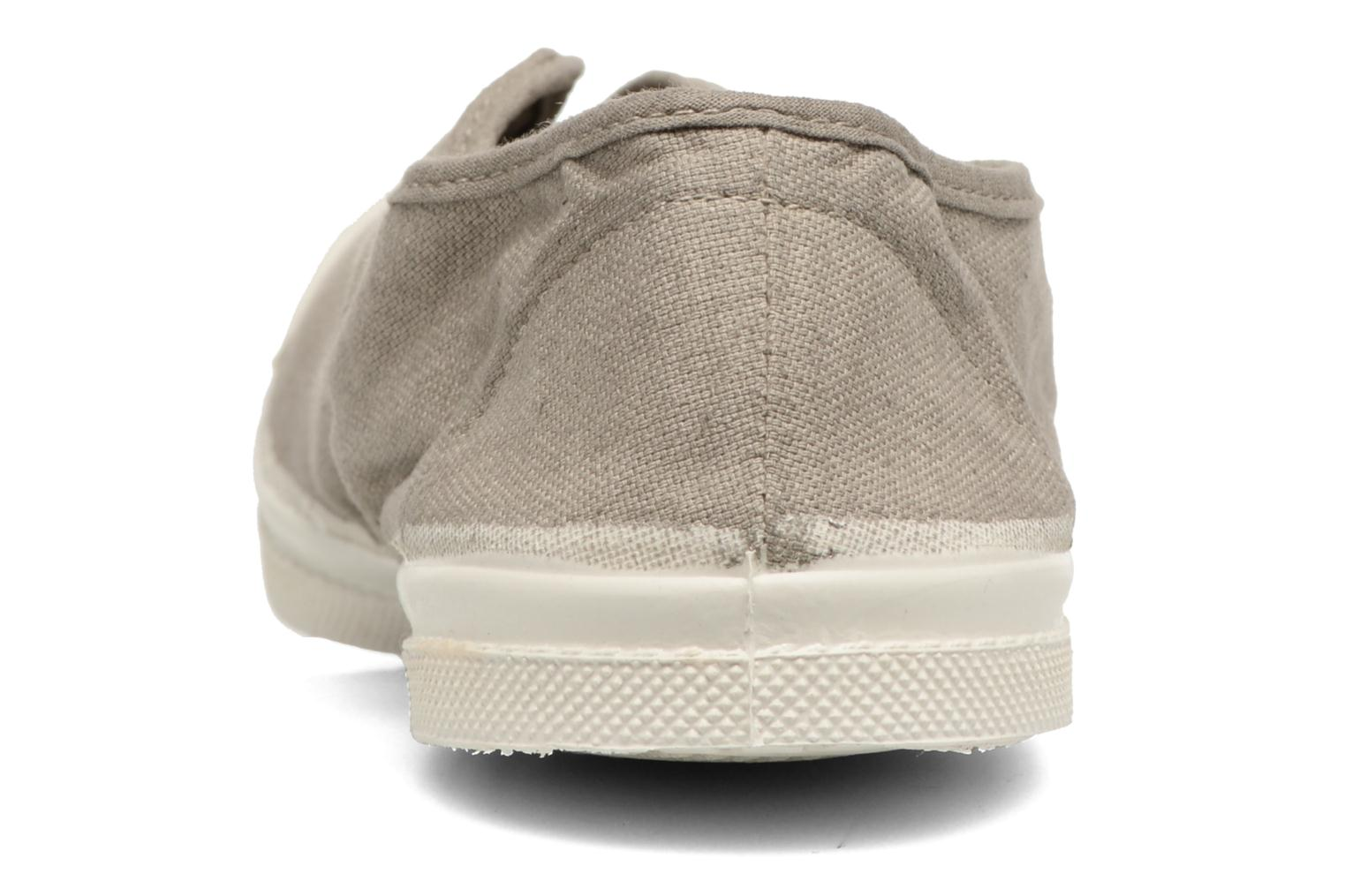 Trainers Bensimon Tennis Elly Beige view from the right