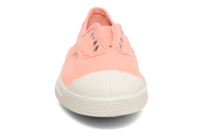 Sneakers Bensimon Tennis Elly Rosa modello indossato