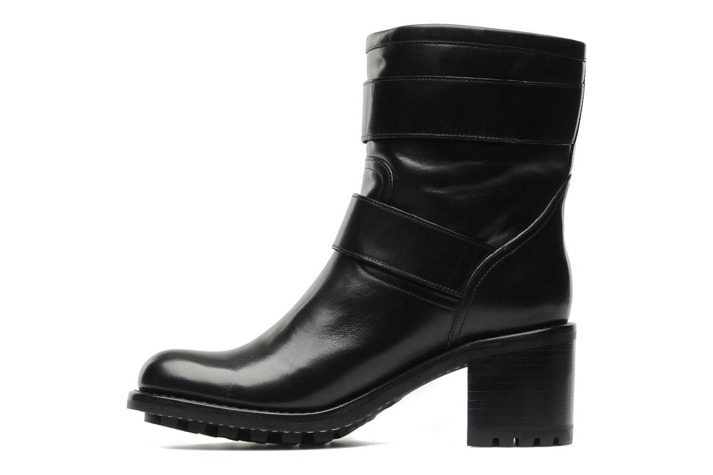 Boots en enkellaarsjes Free Lance Biker 7 Mini Strap Zwart voorkant