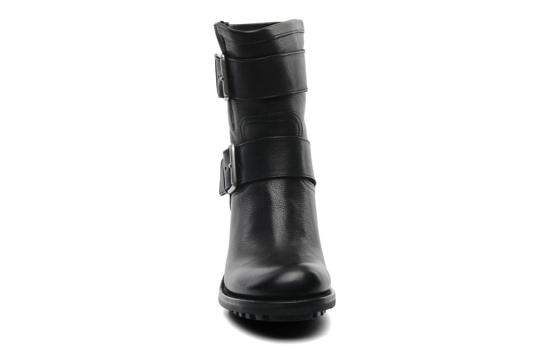 Stiefeletten & Boots Free Lance Biker 7 Mini Strap schwarz schuhe getragen