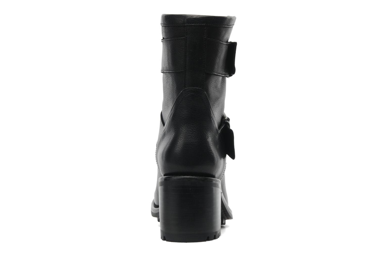 Bottines et boots Free Lance Biker 7 Mini Strap Noir vue droite