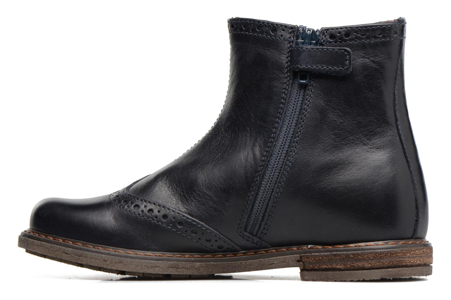 Ankle boots Stones and Bones Evan Blue front view