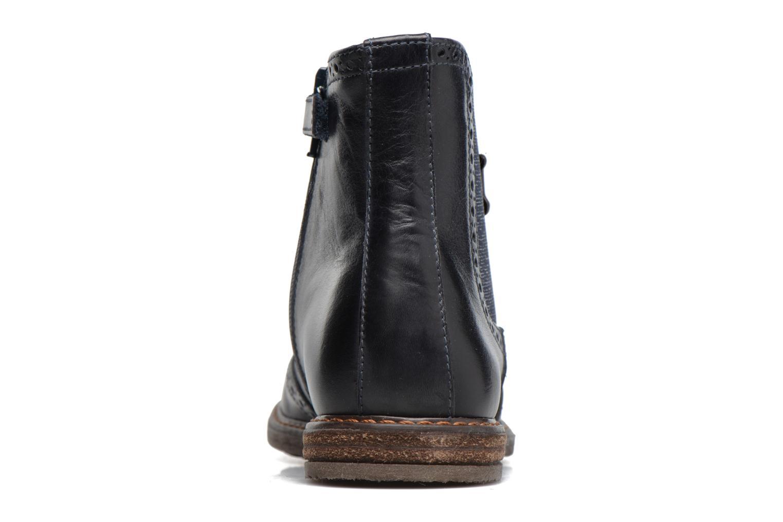 Bottines et boots Stones and Bones Evan Bleu vue droite