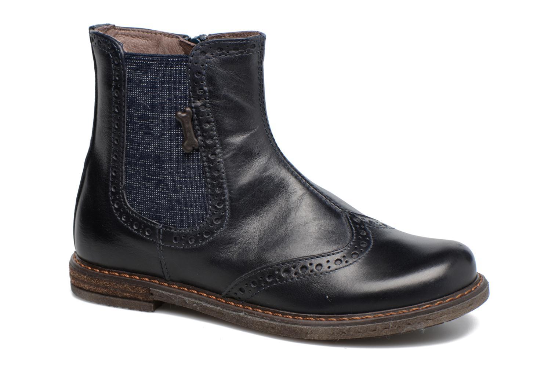 Ankelstøvler Stones and Bones Evan Blå detaljeret billede af skoene