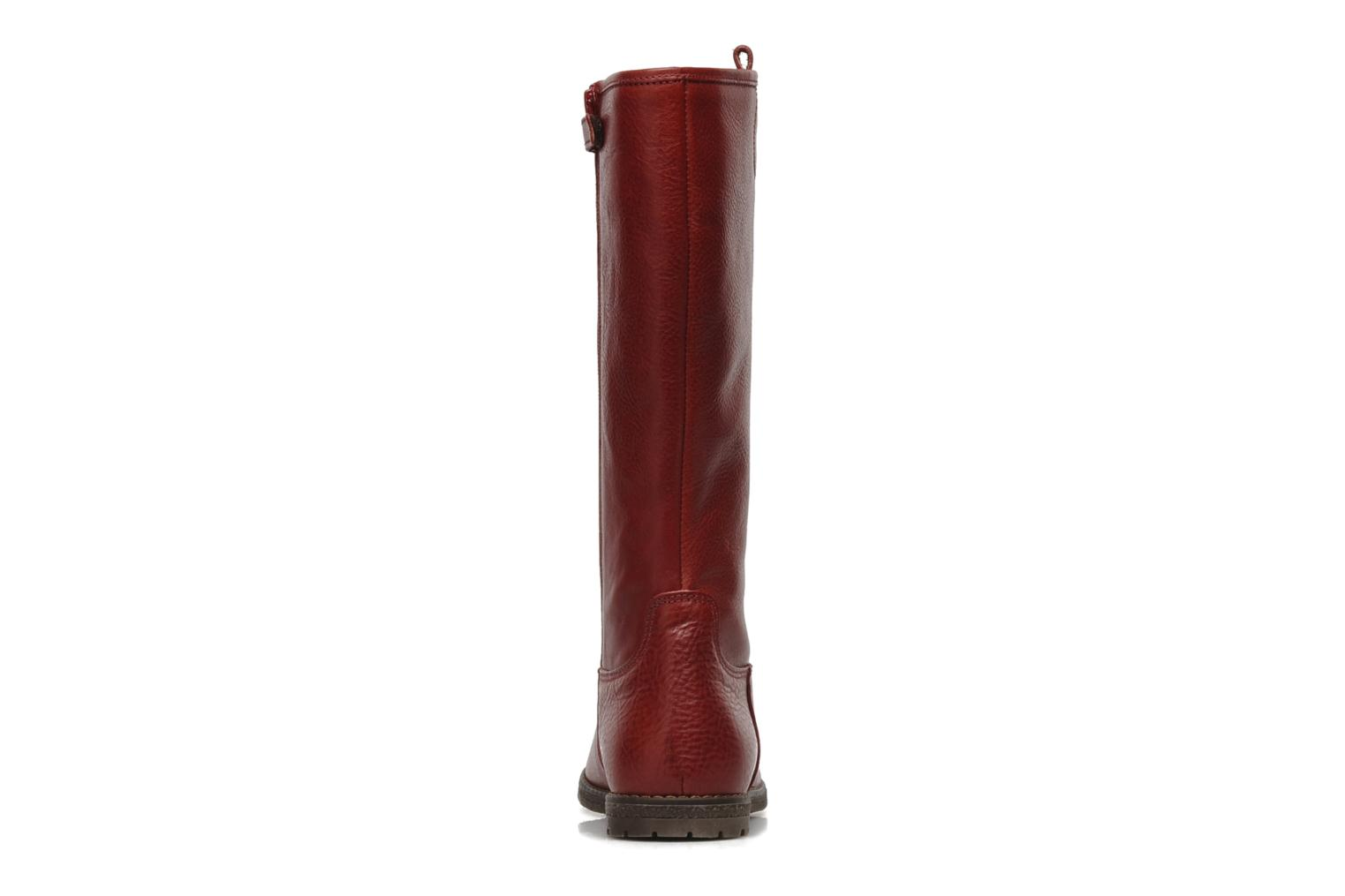 Boots & wellies Stones and Bones BESSI Red view from the right
