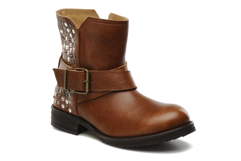 Bottines et boots Tatoosh Bea Marron vue détail/paire