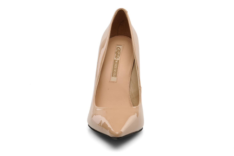 High heels Buffalo Beyza Beige model view