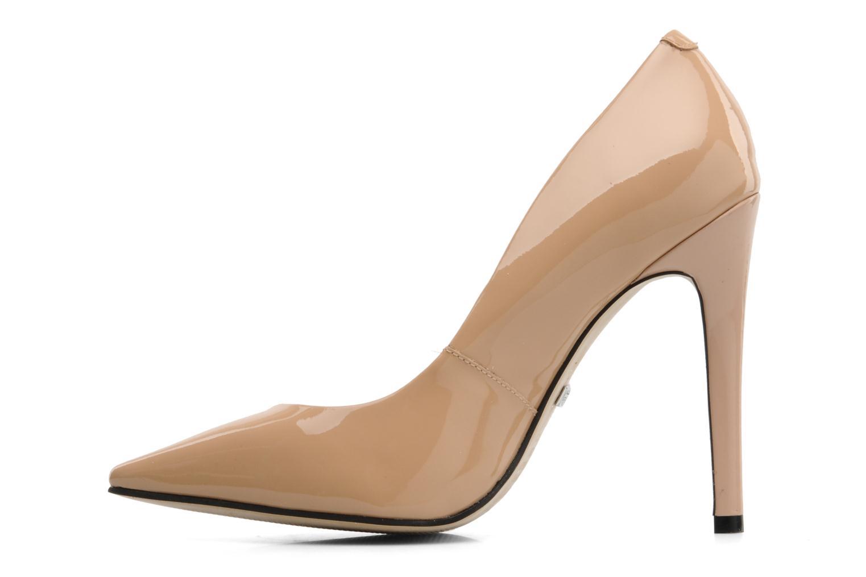 High heels Buffalo Beyza Beige front view