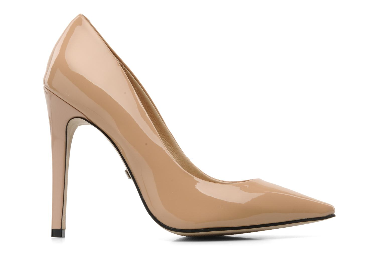 High heels Buffalo Beyza Beige back view