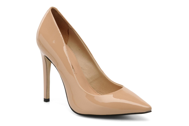 High heels Buffalo Beyza Beige detailed view/ Pair view