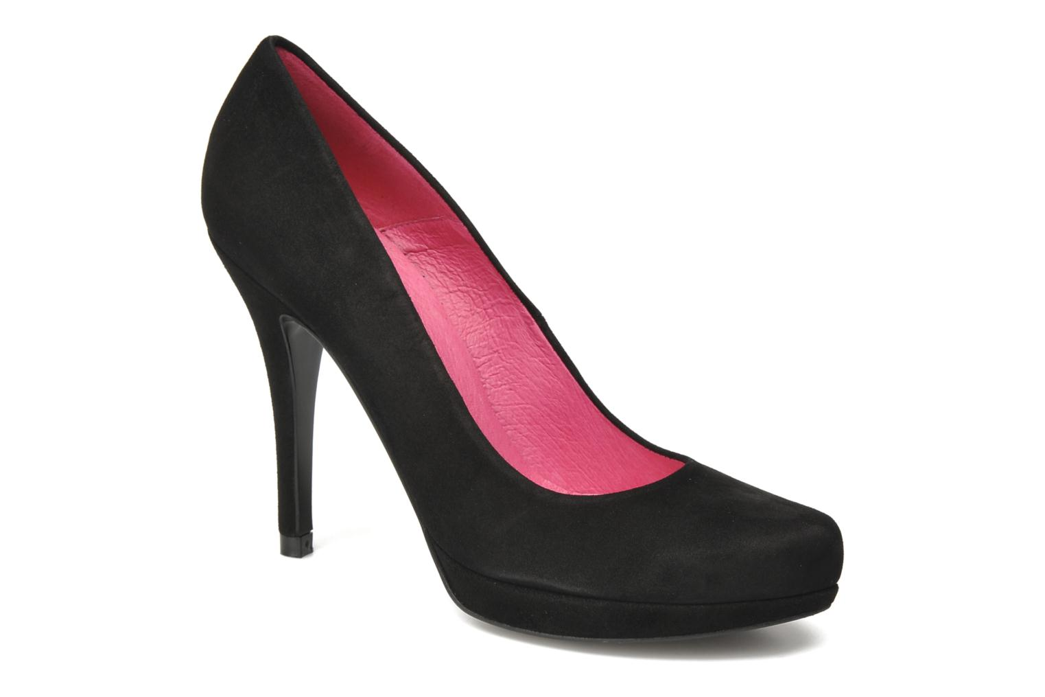 Pumps Buffalo Benja Zwart detail