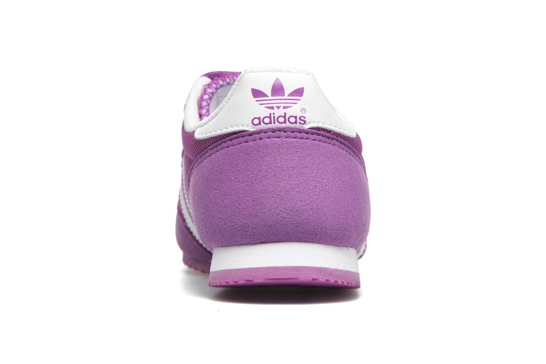 Sneaker Adidas Originals Dragon Cf C lila ansicht von rechts