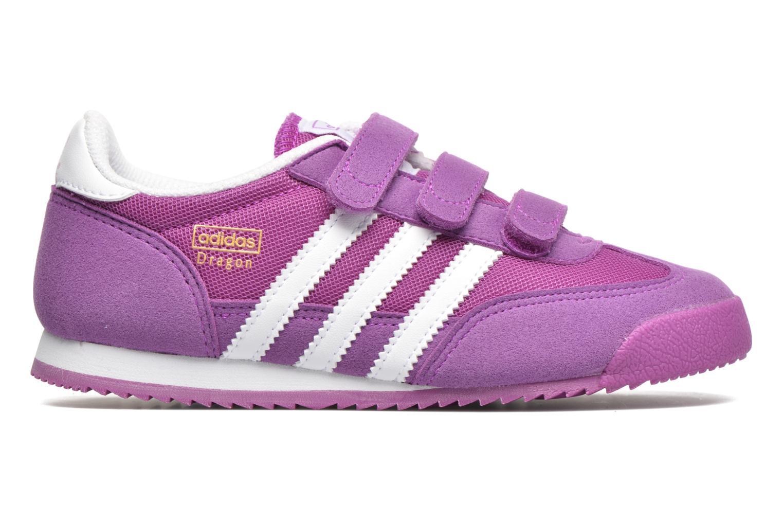 Sneaker Adidas Originals Dragon Cf C lila ansicht von hinten