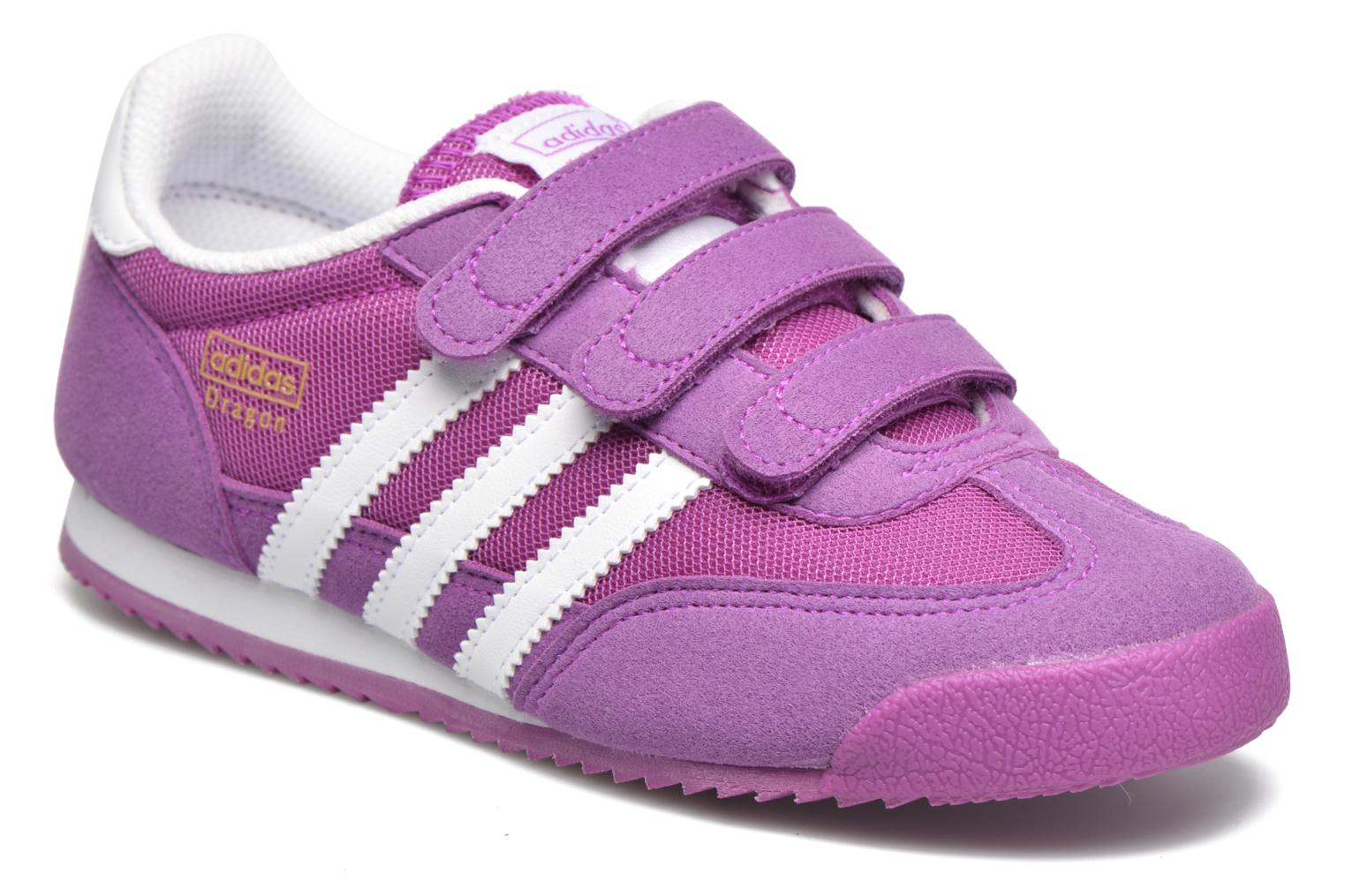 Baskets Adidas Originals Dragon Cf C Violet vue détail/paire