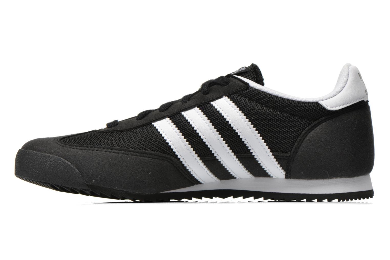 Sneakers Adidas Originals Dragon J Nero immagine frontale