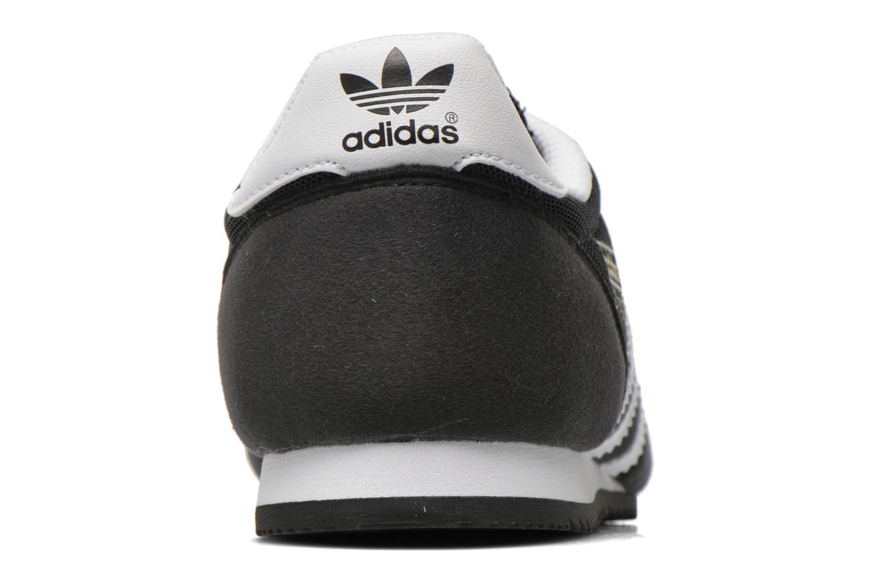 Sneakers Adidas Originals Dragon J Svart Bild från höger sidan