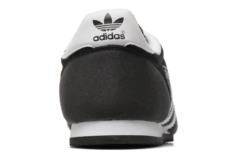 Deportivas Adidas Originals Dragon J Negro vista lateral derecha