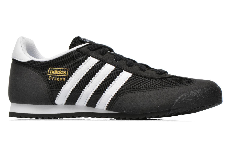Sneakers Adidas Originals Dragon J Svart bild från baksidan