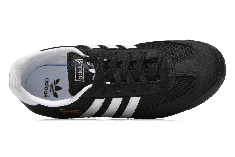 Sneakers Adidas Originals Dragon J Sort se fra venstre