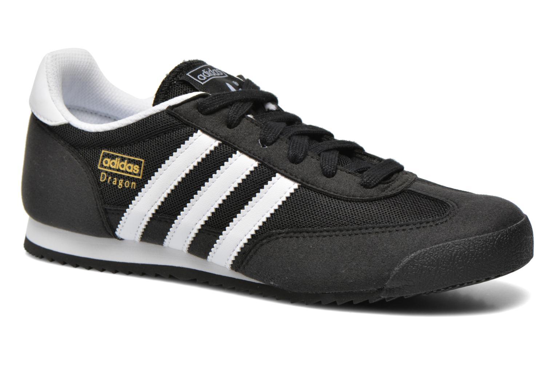 Sneakers Adidas Originals Dragon J Sort detaljeret billede af skoene