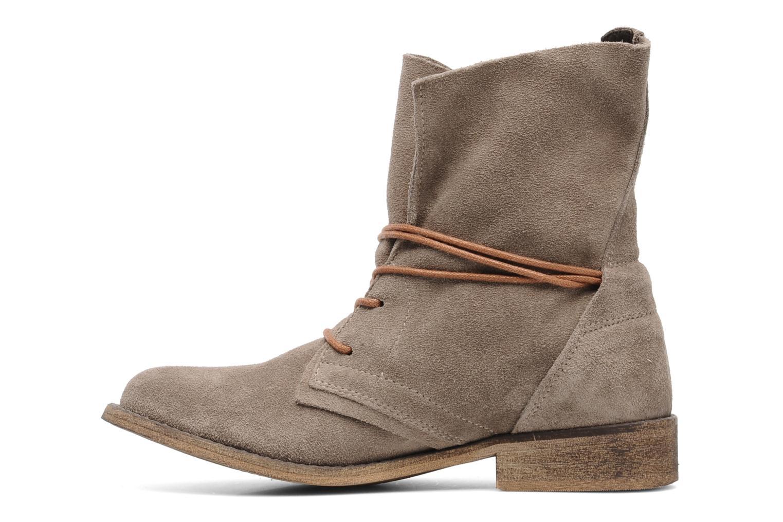 Boots en enkellaarsjes SPM Oklahoma Beige voorkant