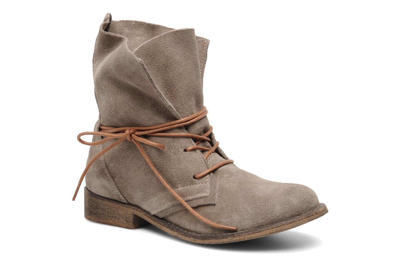 Boots en enkellaarsjes SPM Oklahoma Beige detail