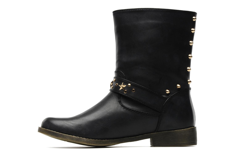 Bottines et boots Spot On GEORGINE Noir vue face