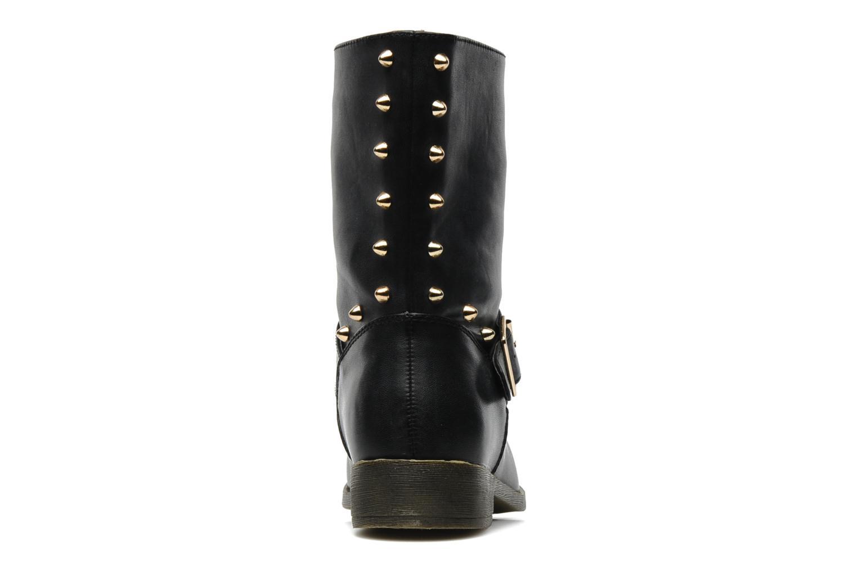 Bottines et boots Spot On GEORGINE Noir vue droite