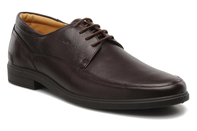 Chaussures à lacets Sledgers Joke Marron vue détail/paire